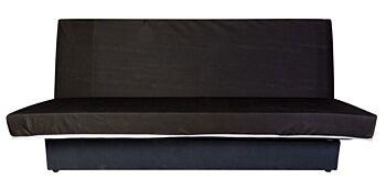 Canapea Extensibila Teenager Click Clack, Neagra, 190x125cm