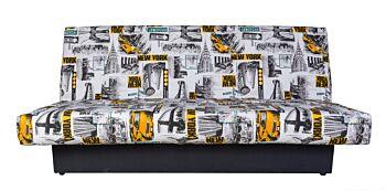Canapea Extensibila Teenager Click Clack, New York, 190x125cm