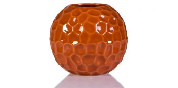 Vaza caramizie din ceramica 14 cm