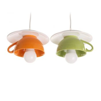 "Lustra ""Afternoon tea"" funky twins orange-green"