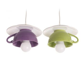 "Lustra ""Afternoon tea"" funky twins purple-green"